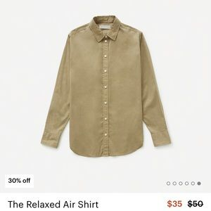 Everlane Relaxed Air shirt size 4